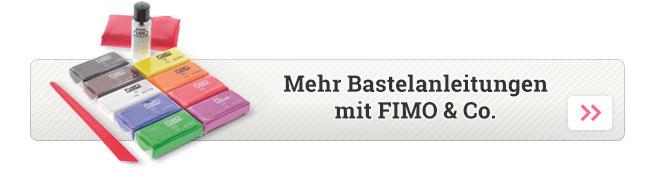 Mehr Bastelanleitungen zu FIMO & Co.