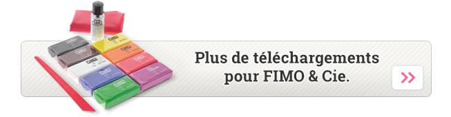 Plus de téléchargements pour FIMO & Cie