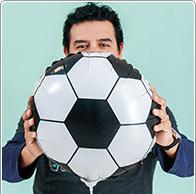 Globo hinchable del Mundial