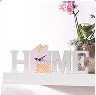 Holz-Uhr Home