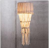 Lamp van draad