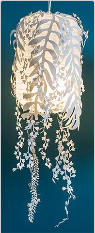 Blätter-Lampe