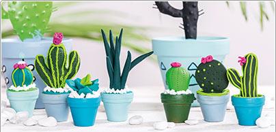 Gemodelleerde cactus