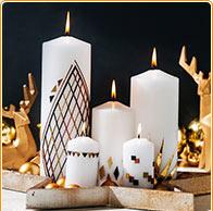 Kerzen modern