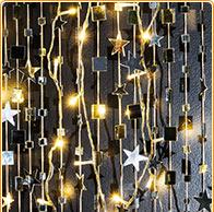 Leuchtende Spiegel-Sterne basteln