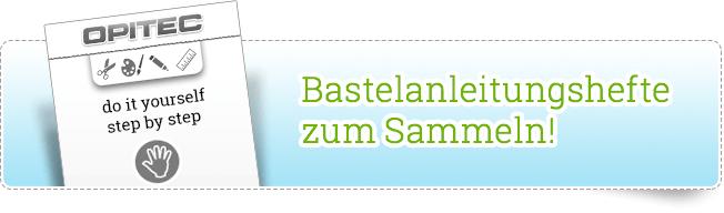 Bastelanleitungshefte zum Sammeln!