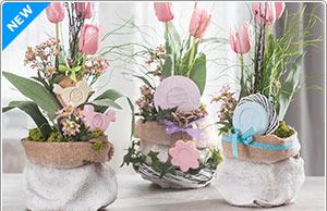 Detaillierte Anleitung zu Frühlingsgestecke