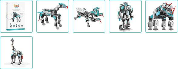 Meer informatie UBTECH Jimu Inventor Kit