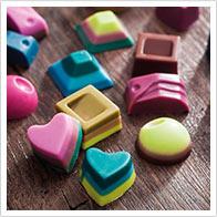 Detaillierte Bastelanleitung für Gießformen Süßigkeiten
