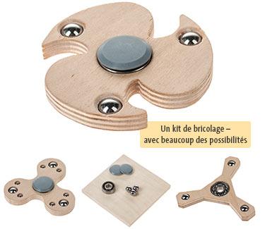 Kit d'atelier Spinner en bois OPITEC