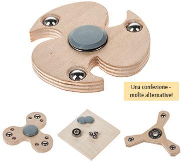 Kit di montaggio OPITEC Spinner in legno