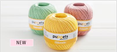 New: puppets crotchet yarn