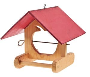Apple House - Bird Feeder, 210 x 210 x 200 mm