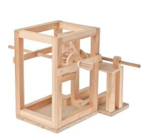 Werkpackung I Leonardo da Vinci (ohne Wasserrad)
