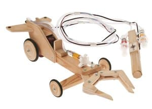 Robotergreifarm-Fahrzeug