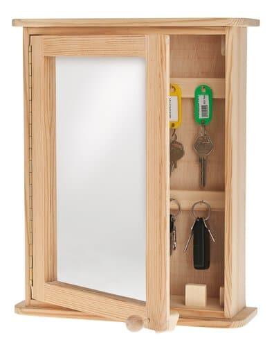 Armario de llaves con espejo de poliestireno opitec - Armarios para llaves ...