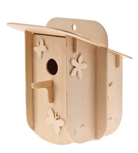 deko nistkasten holzbaukasten easy line opitec. Black Bedroom Furniture Sets. Home Design Ideas