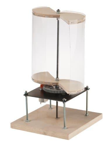 savonius windgenerator opitec. Black Bedroom Furniture Sets. Home Design Ideas