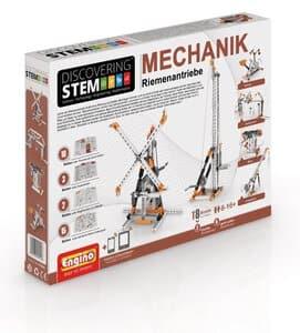 Engino STEM Mechanik: Riemenantrieb / Flaschenzug
