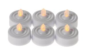 LED - Flickering Tealight , 6 pcs