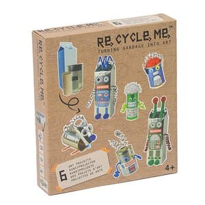 Re-Cycle-Me Bastelspaß Roboter