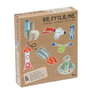 Re-Cycle-Me Bastelspaß Space Boys