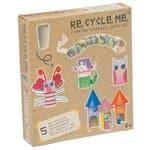 RE-CYCLE-ME knutselpakket - Grappige figuren