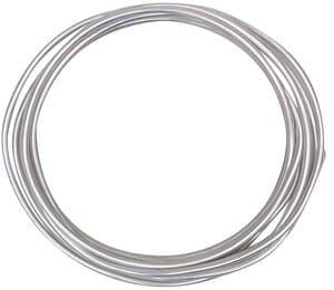 Aluminiumdraad (2,0 mm) 2 m ring, blank