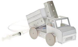 TechCard pneumatische kiepwagen