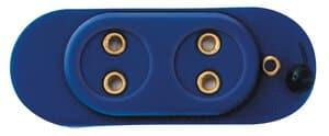 Batteriekappe mit Schalter (2 Anschlüsse)