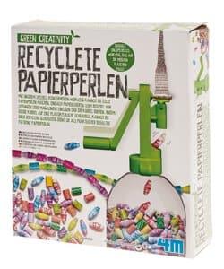 Papierperlen recycelt
