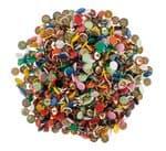 Punaises, gekleurd, 750 stuks