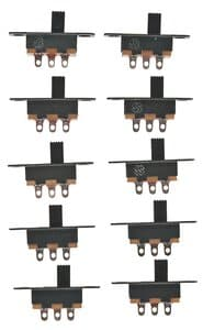 Micro Slide Switch, Set of 10