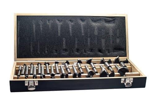 forstnerbohrer satz karbonstahl c45 20 tlg 6 50 mm opitec. Black Bedroom Furniture Sets. Home Design Ideas