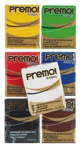 Premo boetseerklei set - Basic Classic, 7x57g