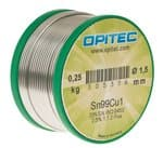 OPITEC Elektroniklot Sn99Cu1, 250g Spule