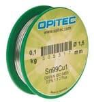 Elektronica soldeertin, loodvrij (1,5mm) 100 gr.