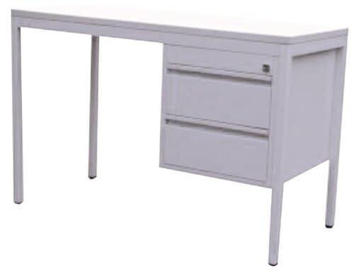 Mle klein bureau 120 x 60 h73 cm 1 lade rechts opitec for Bureau 60x120