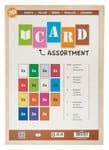 Coloured Cardboard Set, 30 sheets