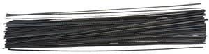 OPITEC Laubsägeblätter weitgezahnt, 144Stück  Gr.3