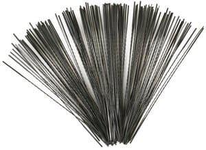 OPITEC Laubsägeblätter doppelzahnig, 144Stück Gr.7