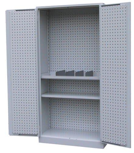 armoire perfo en acier opitec. Black Bedroom Furniture Sets. Home Design Ideas