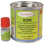 Gie�harz Xor-Crystal-Resin, 250 ml mit H�rter