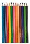 OPITEC Jumbo kleurpotloden, 12 stuks