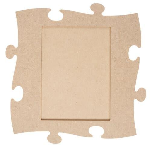 holz bilderrahmen puzzle rechteck 23 x 23cm opitec. Black Bedroom Furniture Sets. Home Design Ideas