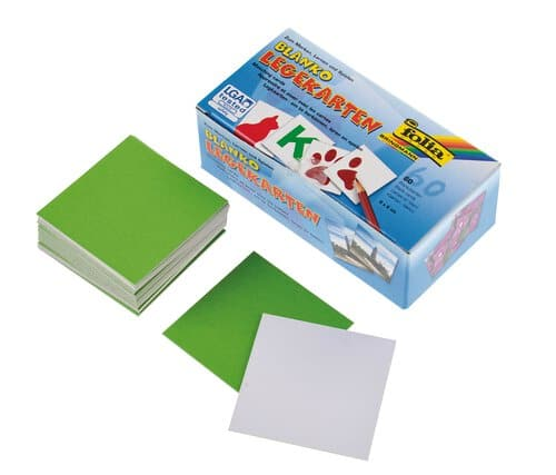 Blanko-Legekarten (Memory), 60 Stu00fcck - Opitec