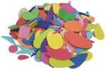 Forme varie in gomma crepla, 200 pezzi, variopinti