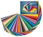 Gekleurd papier, 130 g/m2, 50 vel, 25 x 35 cm