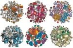 Decorative Crystal Set - Fun, 800 pieces