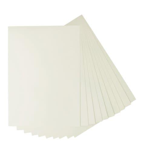 Papier cartonn de couleur blanc perle opitec - Couleur blanc perle ...